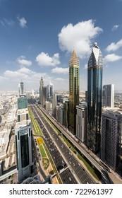 Big Highway, Rose Rayhaan by Rotana, Ahmed Abdul Rahim Al Attar Tower in Dubai, UAE
