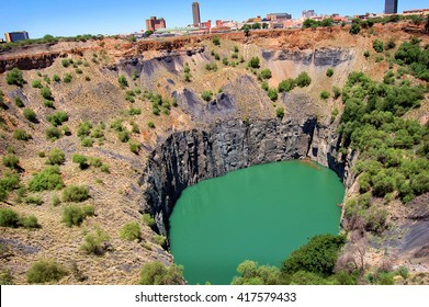 The Big Hole, Open Mine, Kimberley Mine is an open-pit and underground mine in Kimberley, South Africa, and claimed to be the largest hole excavated by hand. Mining industry.