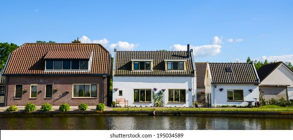 Big house to small house, captured in the Netherlands