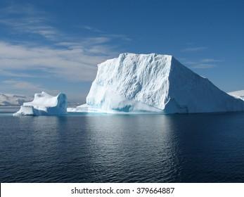 Big ice berg in Antarctica, south pole - Shutterstock ID 379664887