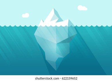 Cartoon floating iceberg images stock photos vectors for Clipart iceberg