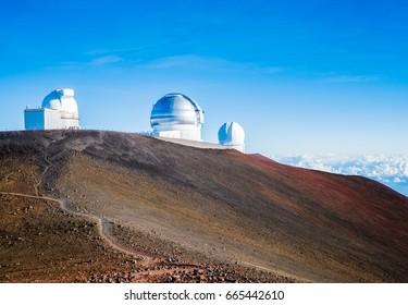 big island hawaii mauna loa mauna kea summit astronomy deep space science observatory