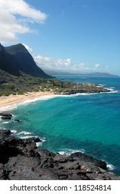 Big Island, Hawaii shoreline