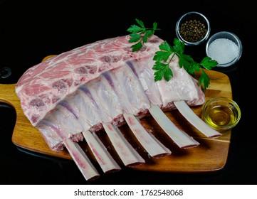 Big Juicy Organic Fed Angus Beef Racks