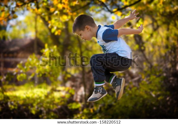 Big jump in forest