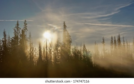 Big Lage Oregon Sunrise