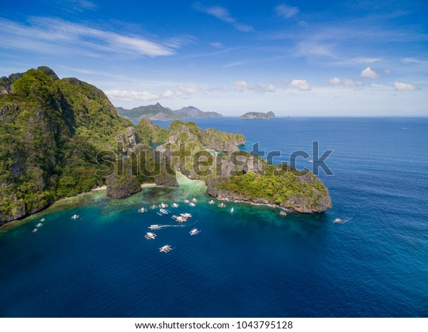 Big Lagoon El Nido Palawan Philippines Stock Photo Edit Now