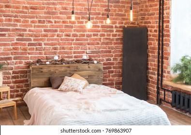 BIg loft bedroom