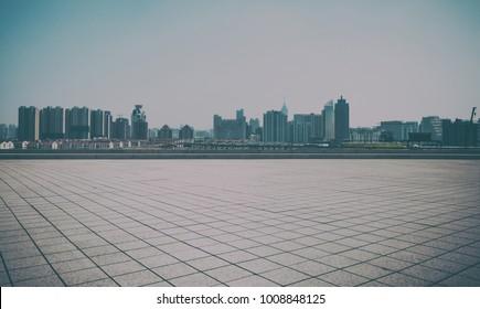 The big modern city