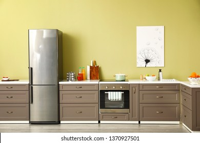 Fridge Kitchen Images Stock Photos Vectors Shutterstock