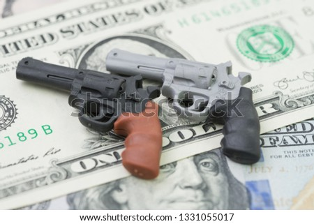 Big money in gun
