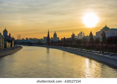 Big Moskvoretskiy bridge, Moscow, Russia