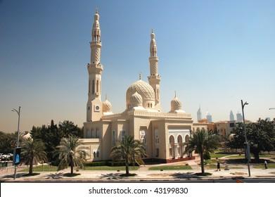 Big mosque in Dubai