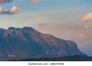 Big mountain in the north of Thailand