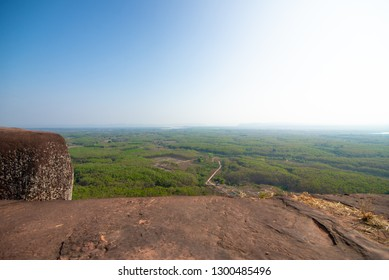 Big moutain stone in Thailand.