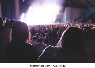 big musical concert