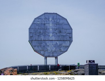 The Big Nickel is a nine-metre (30 ft) replica of a 1951 Canadian nickel, located at the grounds of the Dynamic Earth science museum in Sudbury, Ontario, Canada