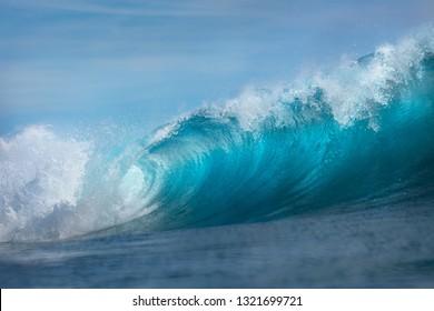 Big Ocean Wave water background