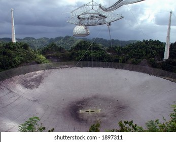 The big one. The largest radio telescope in the world, the Arecibo Observatory stands as a marvel of engineering and science.