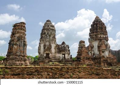 The big pagoda in Thailand