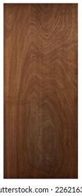 Big panel in walnut