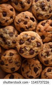 Big Pile of Chocolate Chip Cookies