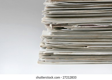 Big pile of old letters and postcards, useful to illustrate spam or mail correspondence