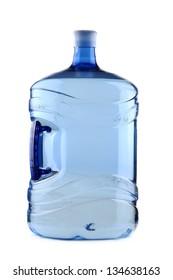 Big plastic bottle for office water cooler
