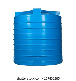 Big polyethylene container of 2000 l. for accumulation,storage and transportation of not only technical or drinking water,but also a variety of dry & liquid food products, as well as oils & chemicals.