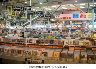 Big Record Store Amobea Music Los Angeles California USA 2018