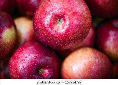 Big red apples