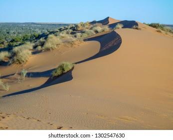 Big Red Sand Dune Simpson Desert Australia