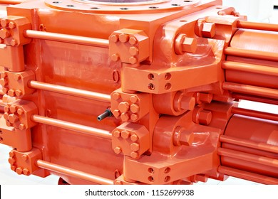 Big red two-piece blowout preventer