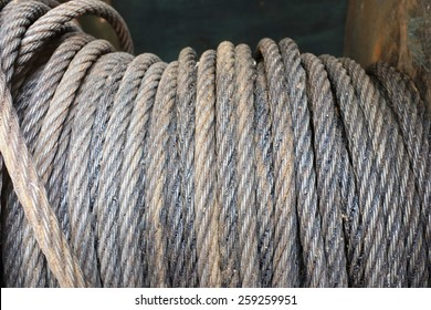 big roll steel wire rope sling