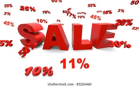 big sale with discount rates