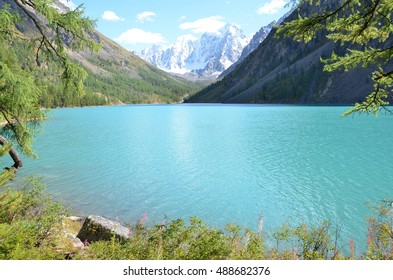 Big Shavlinskoe lake, Altai mountains, Russia