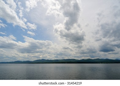 Big Sky at Button Bay State Park in Vermont