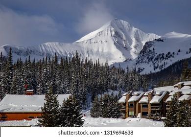 Big Sky Montana, slope side lodging