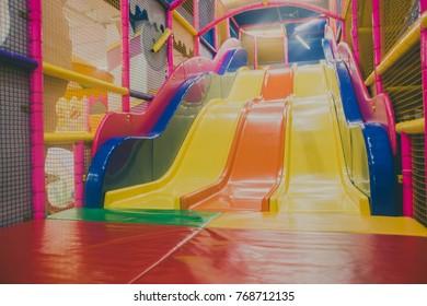 big slide for kids