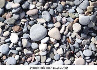 big and small pebble beach