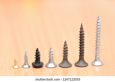 big and small screws