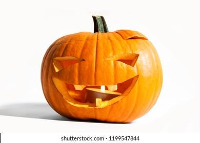 Big Smiling Halloween Pumpkin