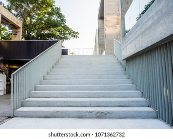 Big Staircase For Decorate Building