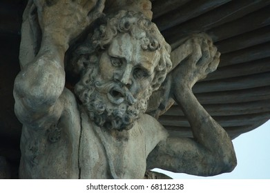 big statue of Samson