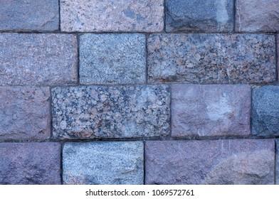 Big stones wall texture