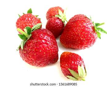 Big Strawberries Fruit