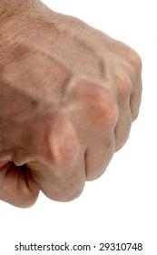 big strong mans fist