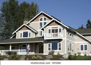 Big Suburban House