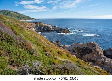 Big Sur Coastline In California