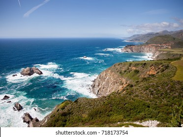 Big Sur coastline. California